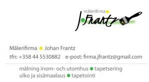 J.Frantzvisitkort