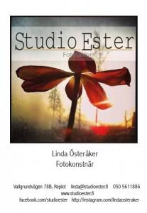 studioesterfotoaffischsommarA5